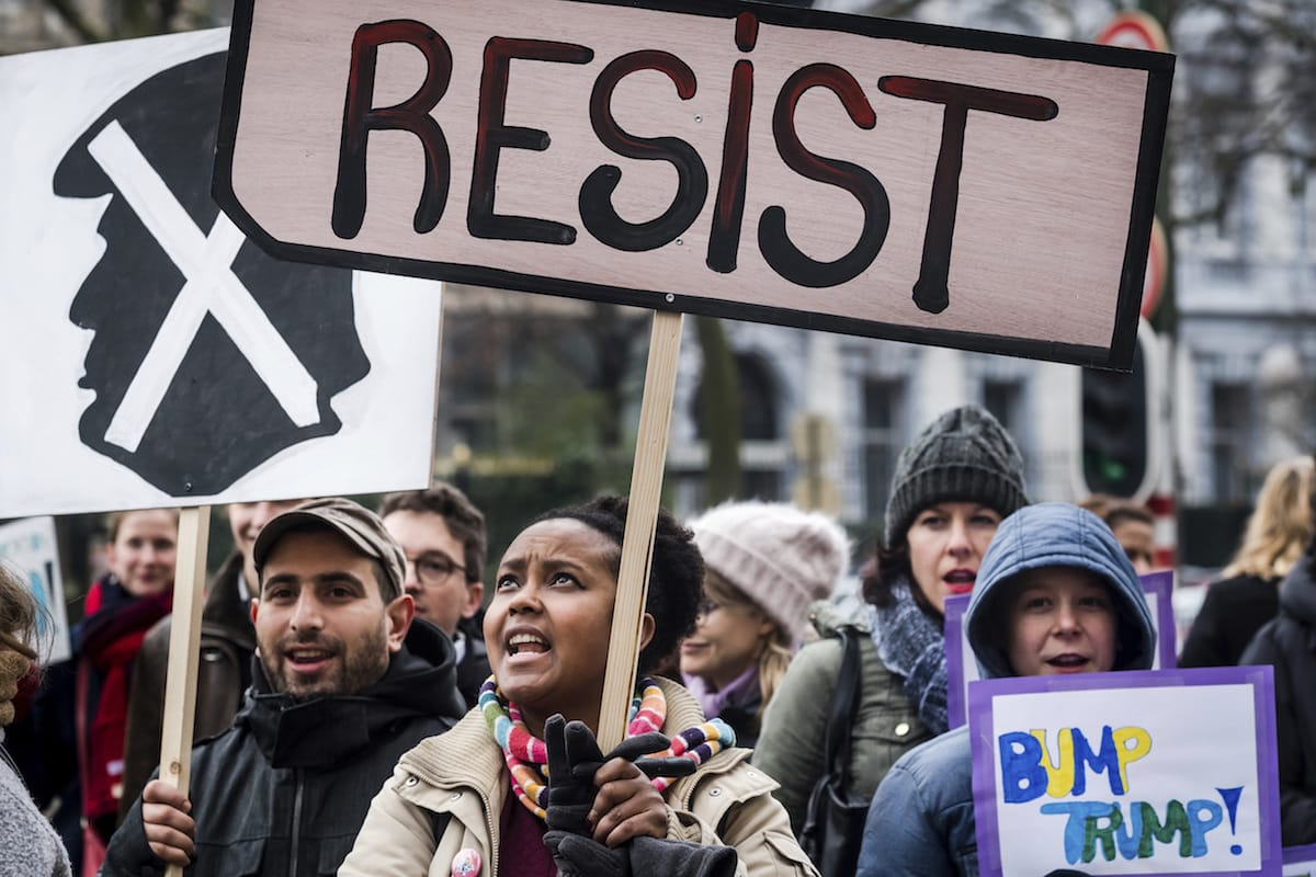 Trump Admin Wants to Restrict Protests in Front of White House