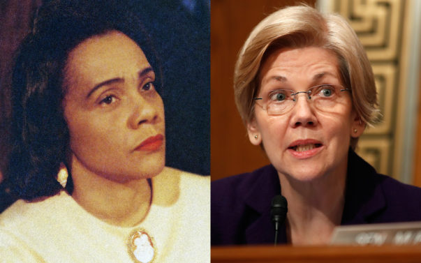 Coretta Scott King Elizabeth Warren