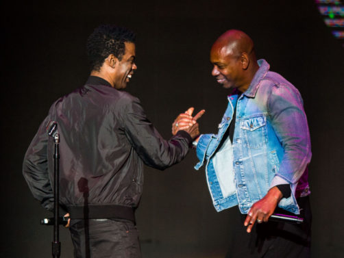 Chris Rock and Dave Chappelle Surprise Fans In New Orleans