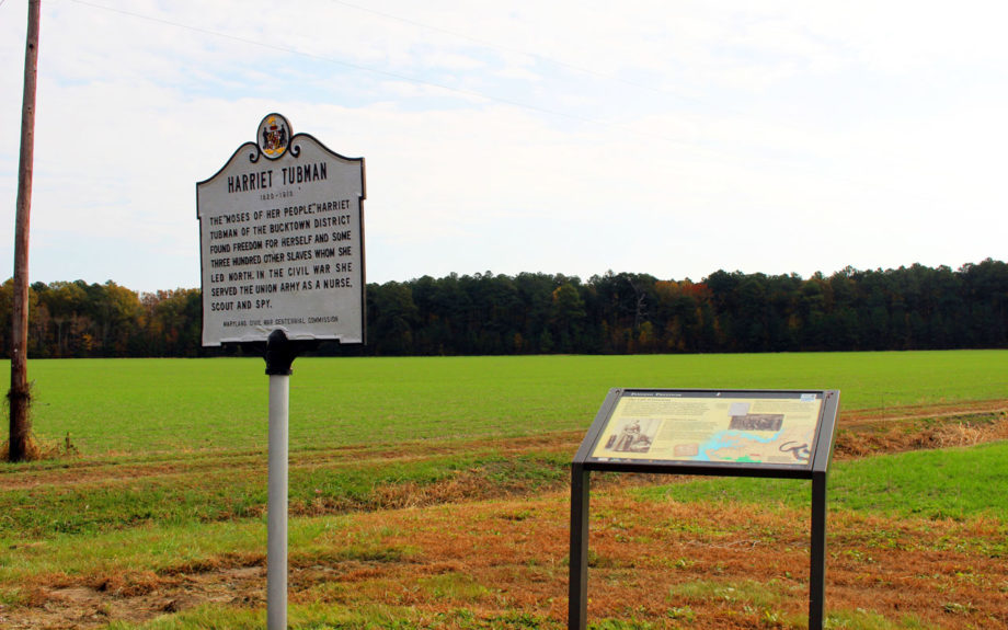 The Brodess Farm, where Harriet Tubman was held as a slave. It is now part of the Harriet Tubman Underground Railroad Byway. Beth Parnicza/National Park Service