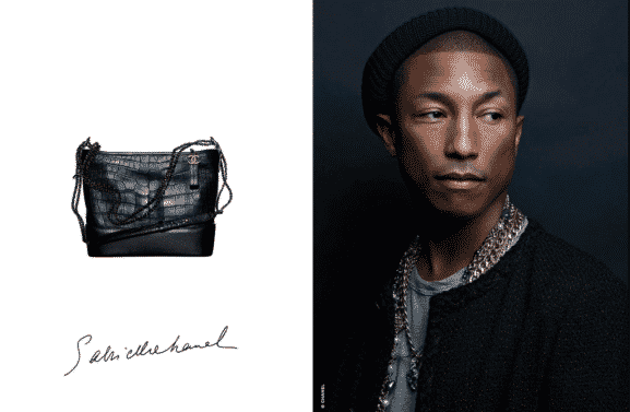 Pharrell Wiliams Courtesy of Chanel