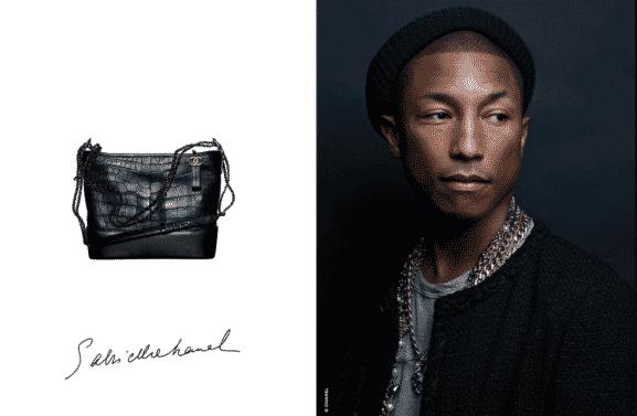 Pharrell Wiliams Courtesy of Chanel