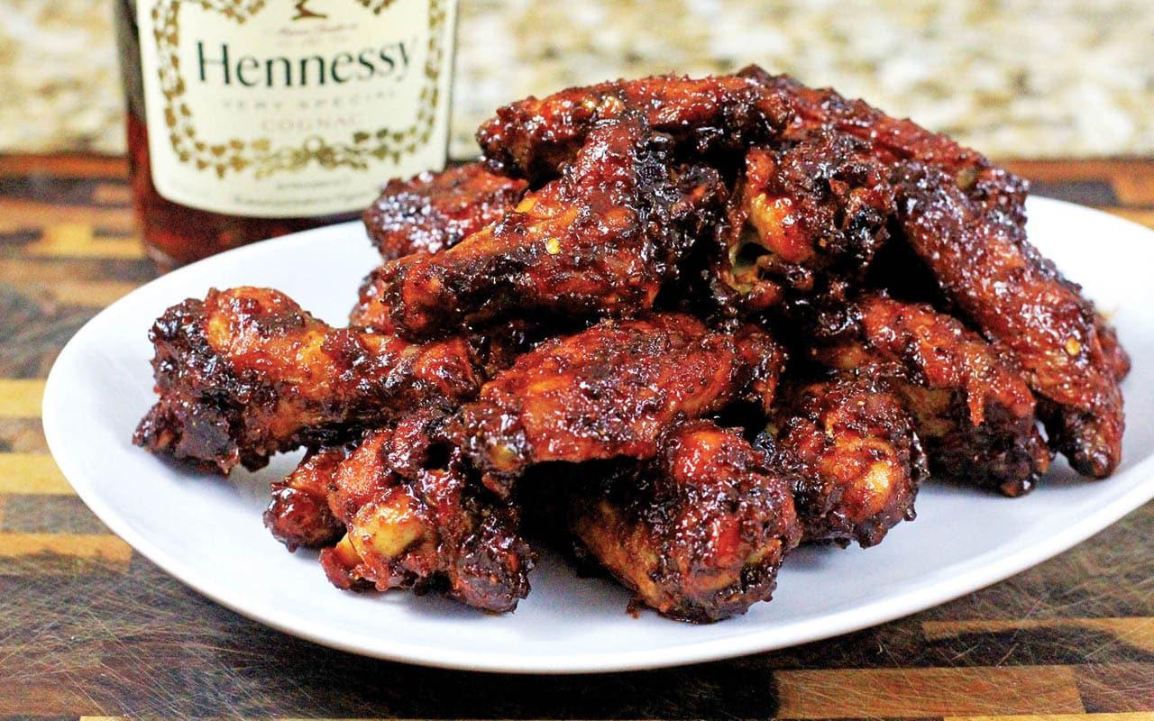 hennessy wings recipe ebony
