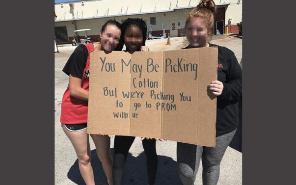 Students Behind Offensive Prom Proposal Suspended