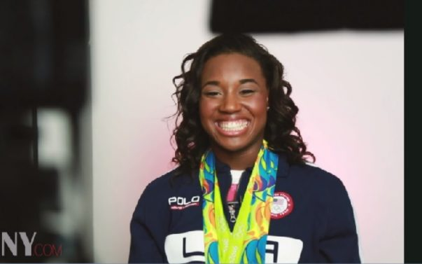 [Women's History] Olympic Champ Simone Manuel Reflects on Her Historic Win