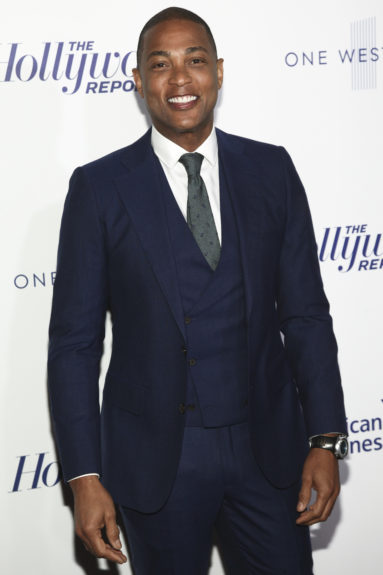 Don Lemon attends The Hollywood Reporter's 35 Most Powerful People in Media party in New York Thursday, April 13. Photo: Andy Kropa/Invision/AP