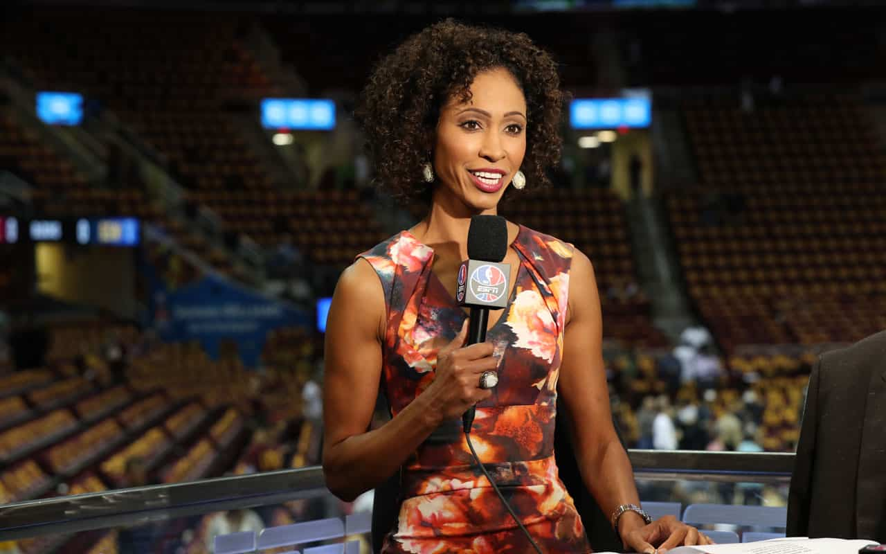 Sage Steele Gets Replaced on NBA Countdown, Black Twitter's Got Jokes