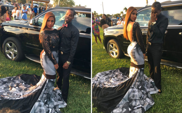 Meet the Teen Who Rocked 'Black Lives Matter' Dress to Prom