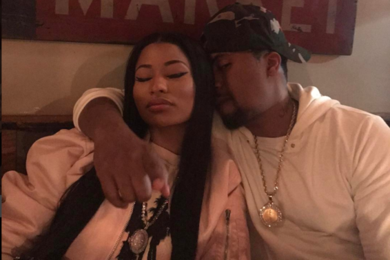 Nicki Minaj and Nas Rock Matching Chains in a Possible Couple Shot?