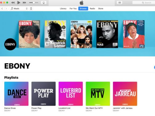 EBONY Apple Music