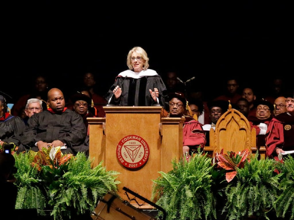Betsy DeVos Bethune-Cookman University