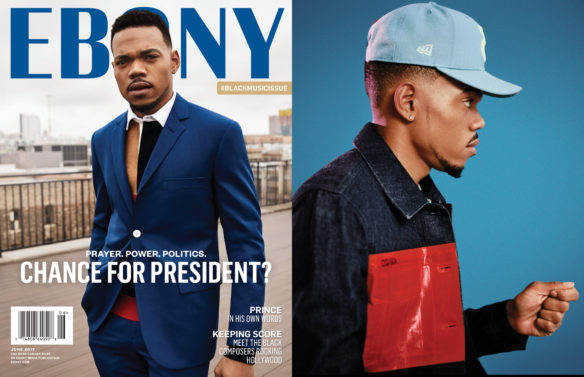 June Cover Issue Exclusive: Chance the Rapper for President?