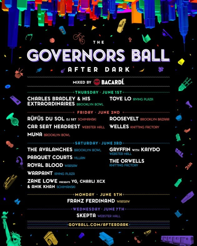 Governors Ball After Dark