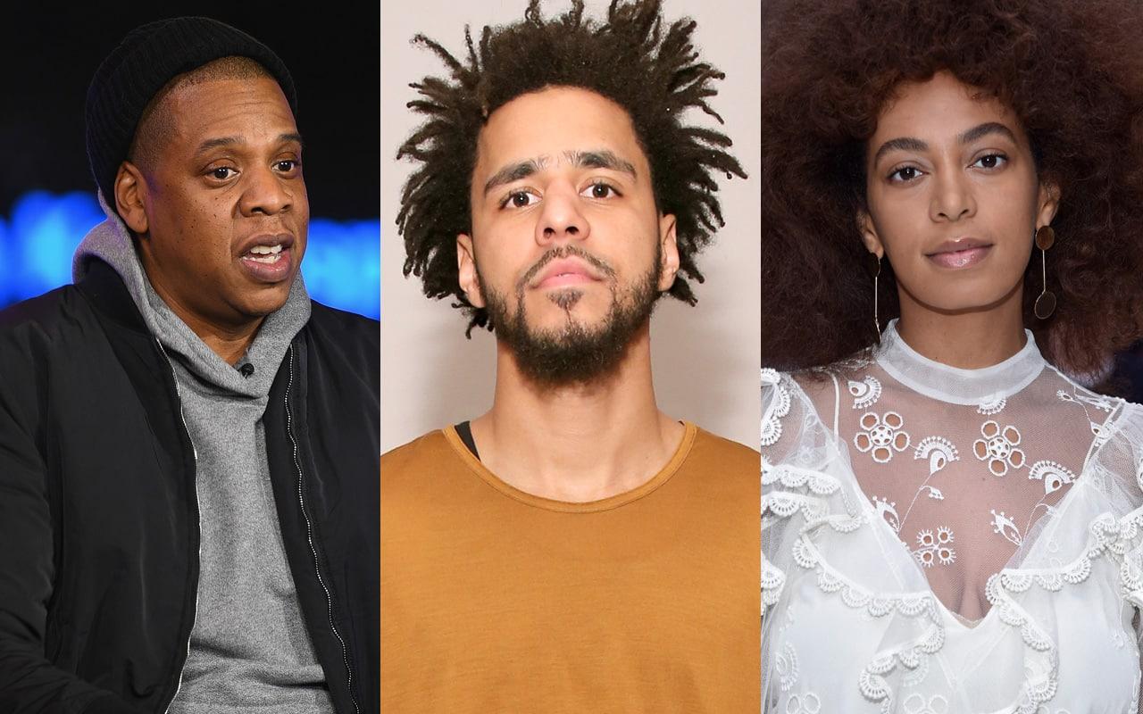 Jay Z J. Cole Solange
