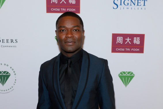 David Oyelowo Wear HIs Go-To Blue Suit For Vegas