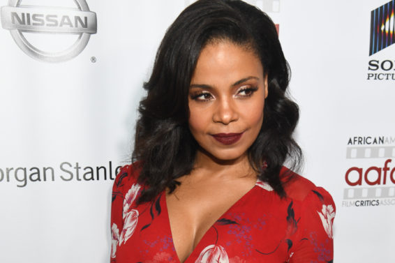 Where To Get Sanaa Lathan's Dreamy Summer Wrap Dress