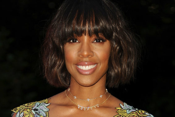 Kelly Rowland Makes Us Think Twice About A Summer Tunic And Pants