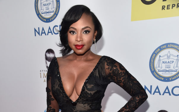'Power's' Naturi Naughton is Officially A Mom!