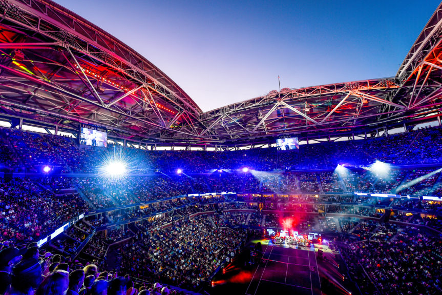Opening Night Ceremony on August 29, 2016 at USTA Billie Jean King National Tennis Center
