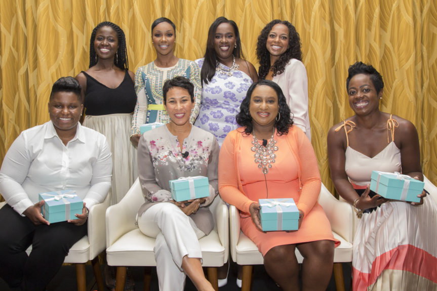 Panelists and Honorees with representatives from EBONY and Hilton