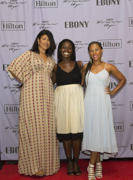 Suzanne Summerville, Kehinde Akiwowo, EBONY and Jocelyn Crawford, CEO, Cairo Customs