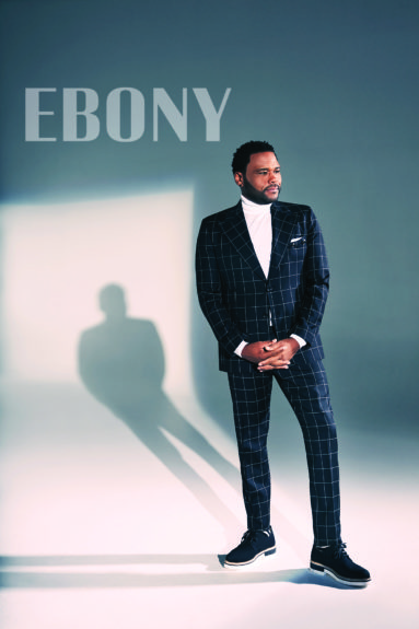 Anthony Anderson for EBONY. Photo: Dennis Leupold