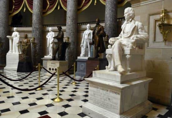 US Capitol Statues