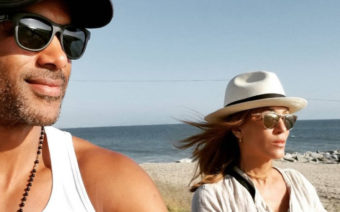 Boris Kodjoe & Nicole Ari Parker Enjoy Family Day at the Beach