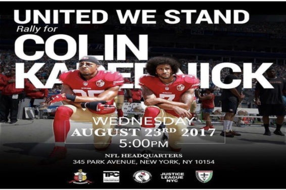 Spike Lee Announces Rally At NFL Headquarters In Support of Colin Kaepernick