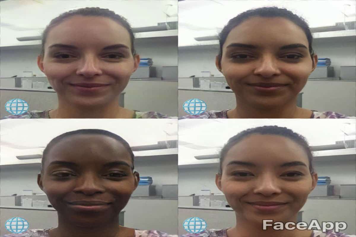 FaceApp Offered Digital Versions Of Black, Yellow And Brownface