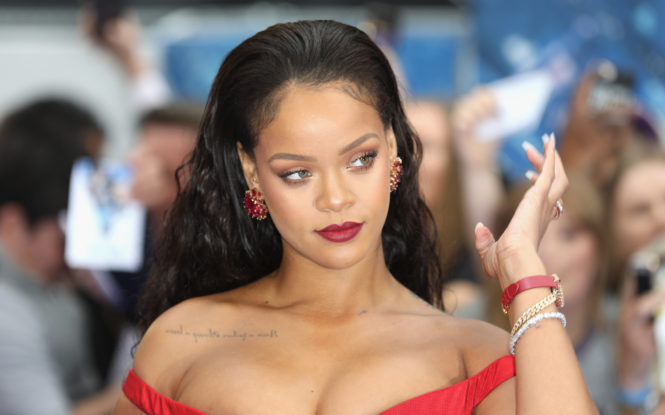 Rihanna Spotted on Date with Rumored Boyfriend in London