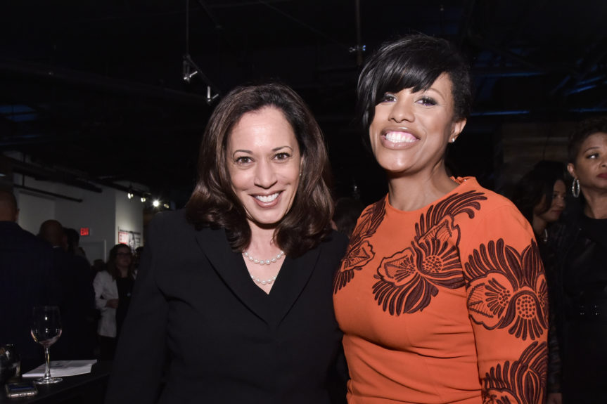 Senator Kamala D. Harris and Mayor of Baltimore Catherine Pugh