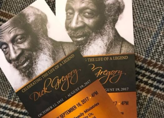 Dick Gregory Laid to Rest: Bill Cosby, Stevie Wonder & More Pay Respects