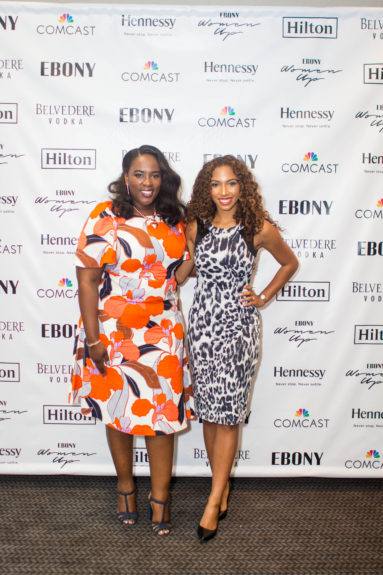 Andrea Richardson, Director, Resorts and Multicultural Marketing, Hilton and Angelina Darrisaw, Founder and CEO of C Suite Coach