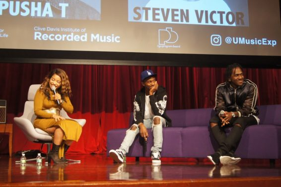 Pusha T and Steven Victor Drop Gems at Universal Music Group's Masterclass Kickoff