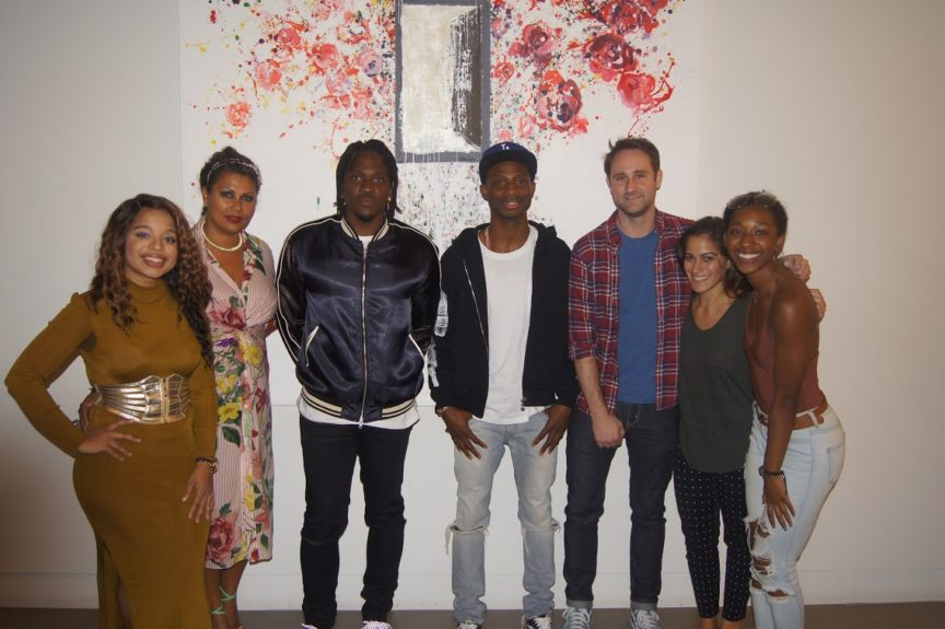Soraya Joseph, Digital Content Director, Ebony-JET, Arlene Noel, SVP of Marketing, Ebony-JET, Pusha T, Rapper and President, G.O.O.D Music, Steven Victor, SVP of A&R, Universal Music Group, Todd Goodwin, VP of College and Lifestyle and Marketing, UMG, Michelle Golden, Events Coordinator, Clive Davis Institute, Taylor Reed, Events Coordinator, Clive Davis Institute