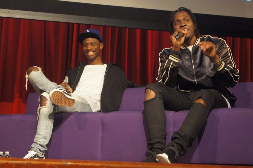 Steven Victor and Pusha T