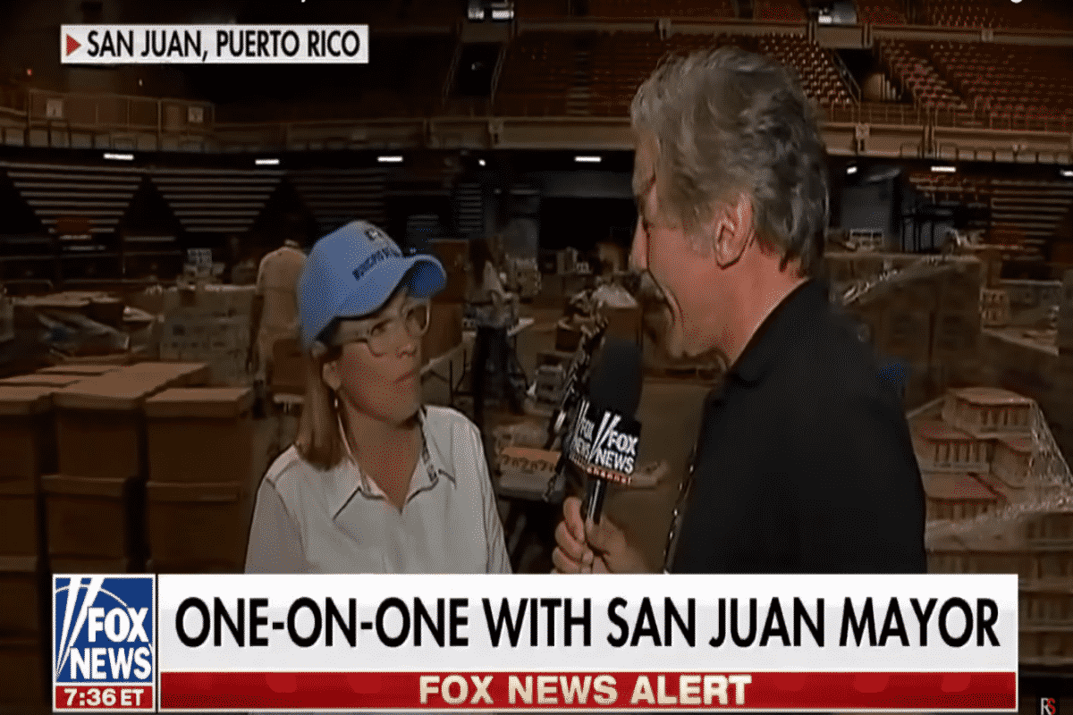 Geraldo Rivera Interviews San Juan Mayor Carmen Yulin Cruz