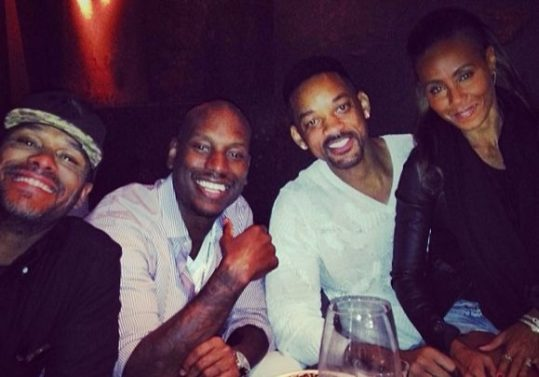 Will & Jada Loan Tyrese $5 Million, Abuse Investigation Dropped