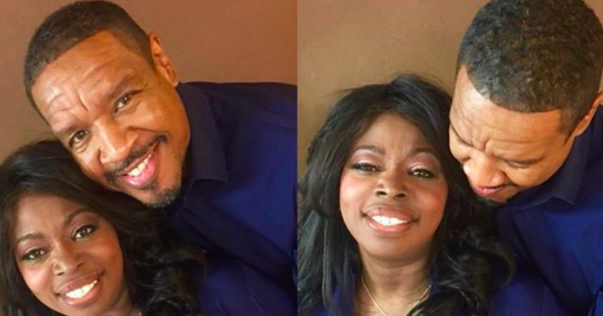 Hold On — Are Angie Stone and Dorian Wilson Dating? Because These Pics… [PHOTOS]
