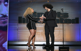 Beyoncé Presents Colin Kaepernick With Muhammad Ali Award