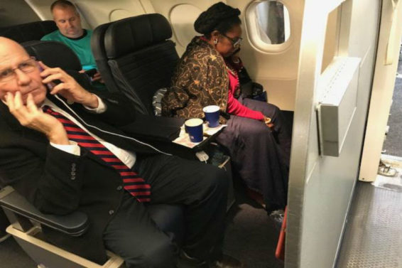 Woman Up in Arms After Airline Gave Her Seat to Black Congresswoman