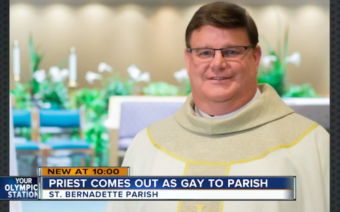 Catholic Priest Comes Out in the Middle of Mass: 'I'm Gay!' — and This Happened