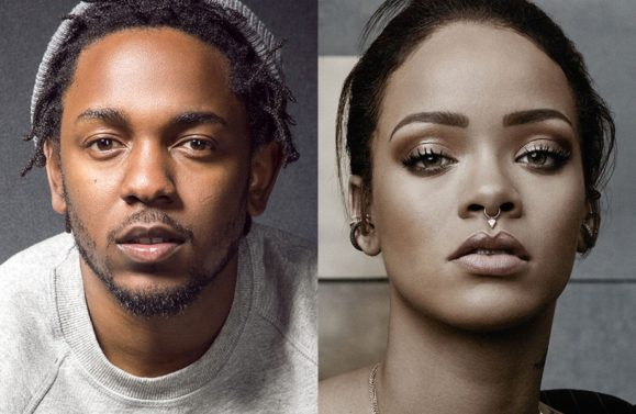 Rihanna Joins Kendrick Lamar for TDE's Annual Christmas Concert & Toy Drive (VIDEO)