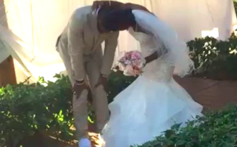 This Groom's Reaction to Seeing His Bride for the First Time Will Melt Your Heart [VIDEO]