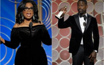 Oprah and Sterling K. Brown Mark Historic Firsts at 2018 Golden Globes