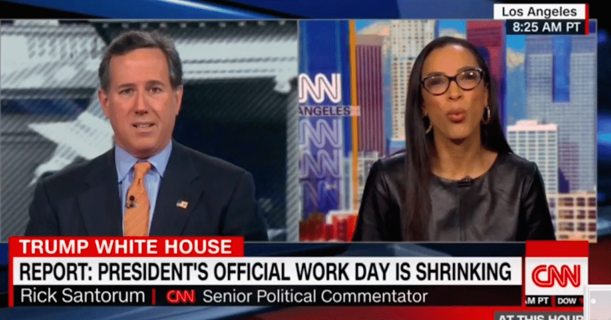 Angela Rye Checks Rick Santorum on