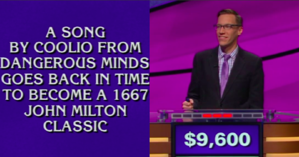 When Keeping it Right Goes Wrong: Jeopardy Contestant Mispronounces 'Gangsta's Paradise,' Loses BIG