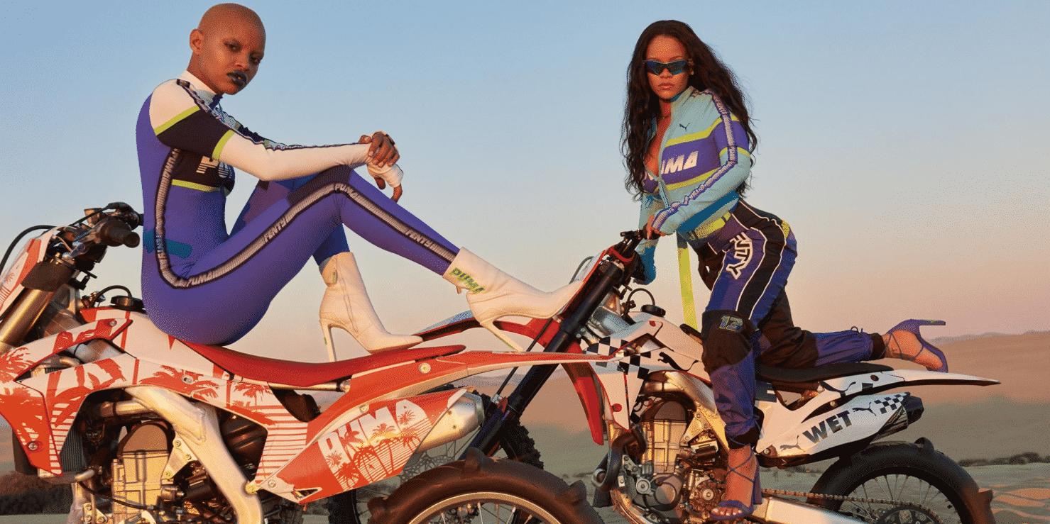 27083419fc30 Rihanna Debuts Fenty PUMA Spring 2018 Campaign • EBONY