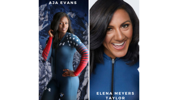 How Olympic Bobsledders  Elana Meyers Taylor and Aja Evans Protect Their Skin And Hair From Winter Freeze